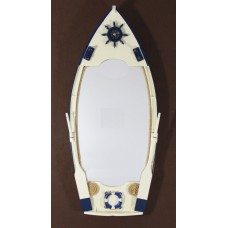 Row Boat Shaped Mirror