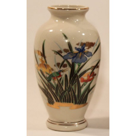 Ethan Allen Hand Painted Vase